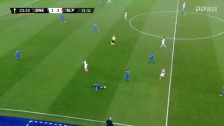 欧联杯-主场大败 亨克1-4负布拉格斯拉维亚