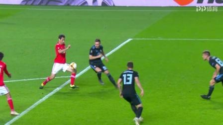 欧联杯-若纳斯救主 本菲卡总比分3-1晋级