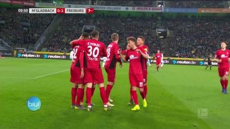 德甲-格里福首開紀錄普利亞扳平 門興主場1-1弗賴堡