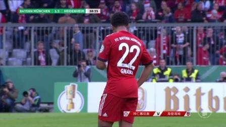[进球视频] 拜仁防守再出问题!施纳特雷抽射远角反超比分
