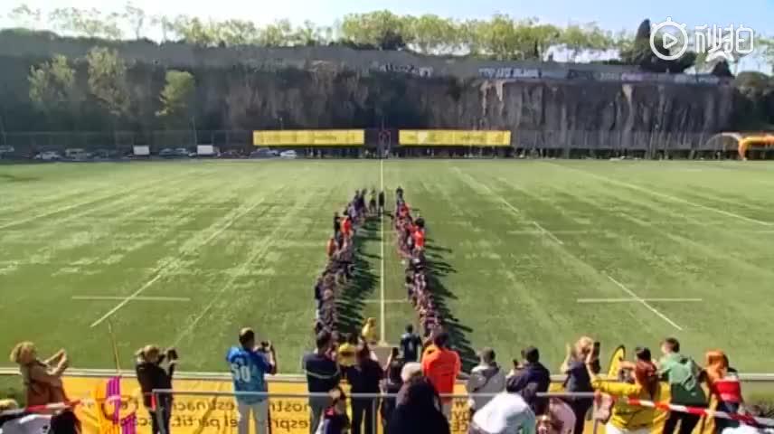 欢乐!巴萨橄榄球队夺冠