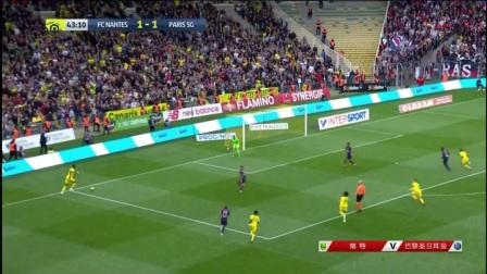 [优酷全场集锦] 法甲-阿尔维斯世界波 巴黎2-3客负南特遭两连败