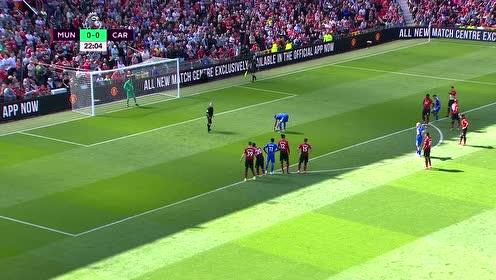 英超第38轮 曼联vs卡迪夫城 进球视频