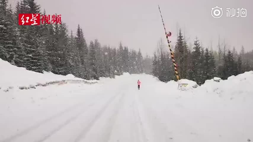 用脚步丈量地球!贵州男子从南极跑步到北极