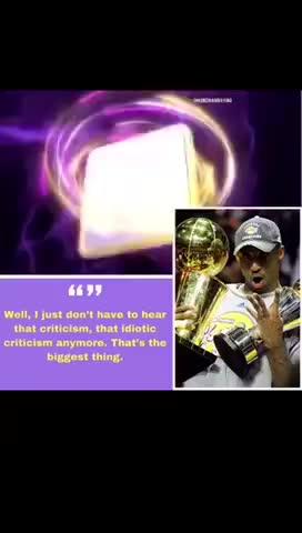 09年夺冠后科比采访:不用再听到(没鲨不能夺冠)了