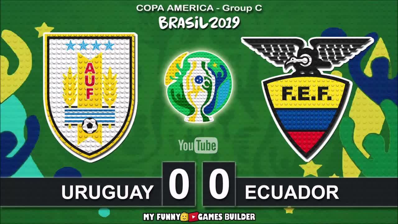 卡瓦尼倒钩破门!乐高还原乌拉圭4-0厄瓜多尔