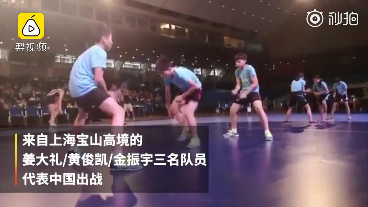 1秒跳绳9.5次!中国小学生跳绳再破世界纪录