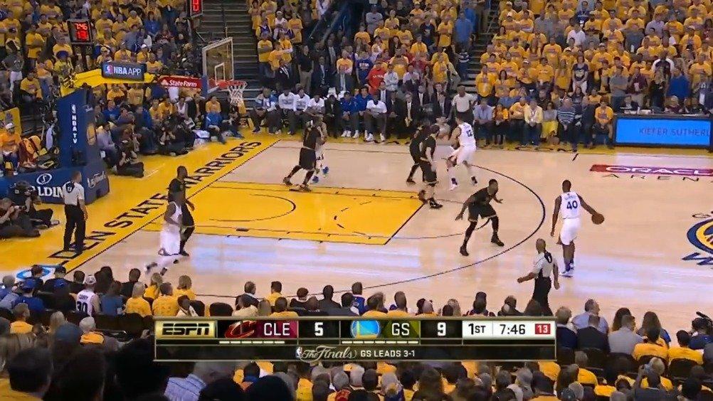 詹欧各自40+!2016年NBA总决赛第五场集锦