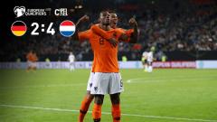 [爱奇艺全场集锦] 欧预赛-德容破门德佩造两球 荷兰客场4-2胜德国