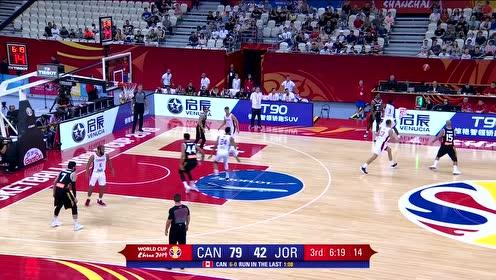 [QQ全场集锦] 世界杯-威尔哲29分 摩根14分 加拿大全队飚进24记三分轻取约旦