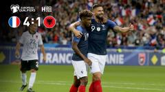 [爱奇艺全场集锦] 欧预赛-科曼双响吉鲁破门 法国4-1阿尔巴尼亚迎连胜