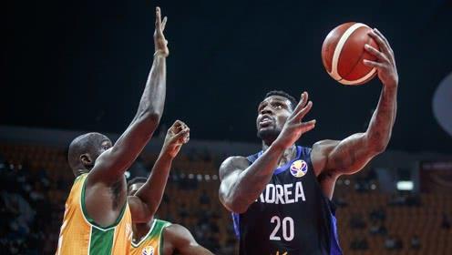 [罗健儿集锦] 韩国归化球员有点猛!罗健儿26分16篮板3盖帽2助攻集锦