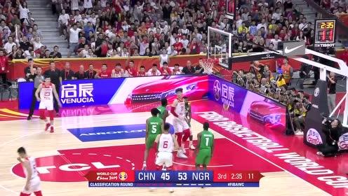 [QQ全场集锦] 世界杯-易建联27+6 方硕19+5 中国不敌尼日利亚