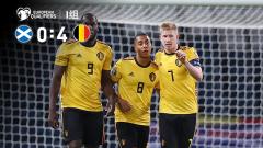 [爱奇艺全场集锦] 欧预赛-丁丁3传1射&卢卡库传射 比利时4-0苏格兰6连胜领跑