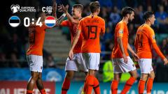 [爱奇艺全场集锦] 欧预赛-德佩两传一射巴贝尔双响 荷兰4-0大胜爱沙尼亚两连胜