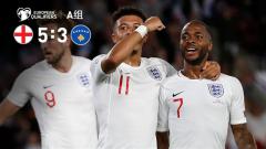 [爱奇艺全场集锦] 欧预赛-斯特林三传一射桑乔双响 英格兰5-3科索沃