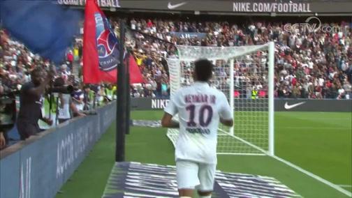 [进球视频] 迪亚洛起球传中 内马尔风骚倒钩绝杀对手