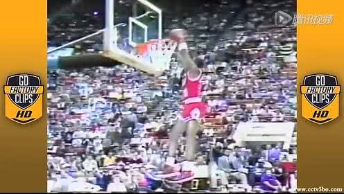 最精彩之一!1985年全明星扣篮大赛录像高清回放