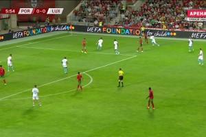 世预赛-C罗帽子戏法B费破门B席造点+助攻 葡萄牙5-0卢森堡
