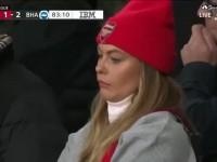 阿森納美女球迷不滿球隊表現