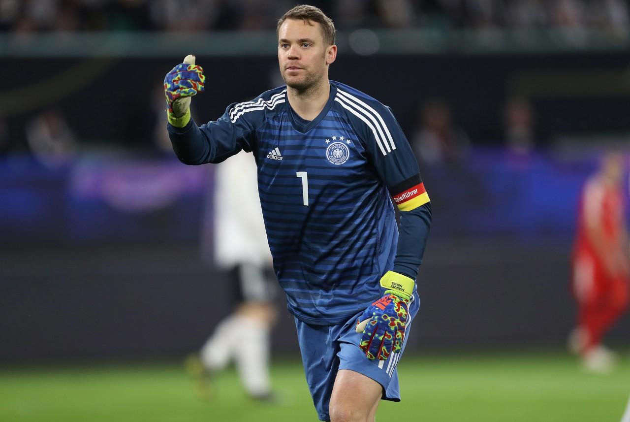 诺伊尔将结束国家队第96次出场,跨越迈耶成为德国出场最多的门将