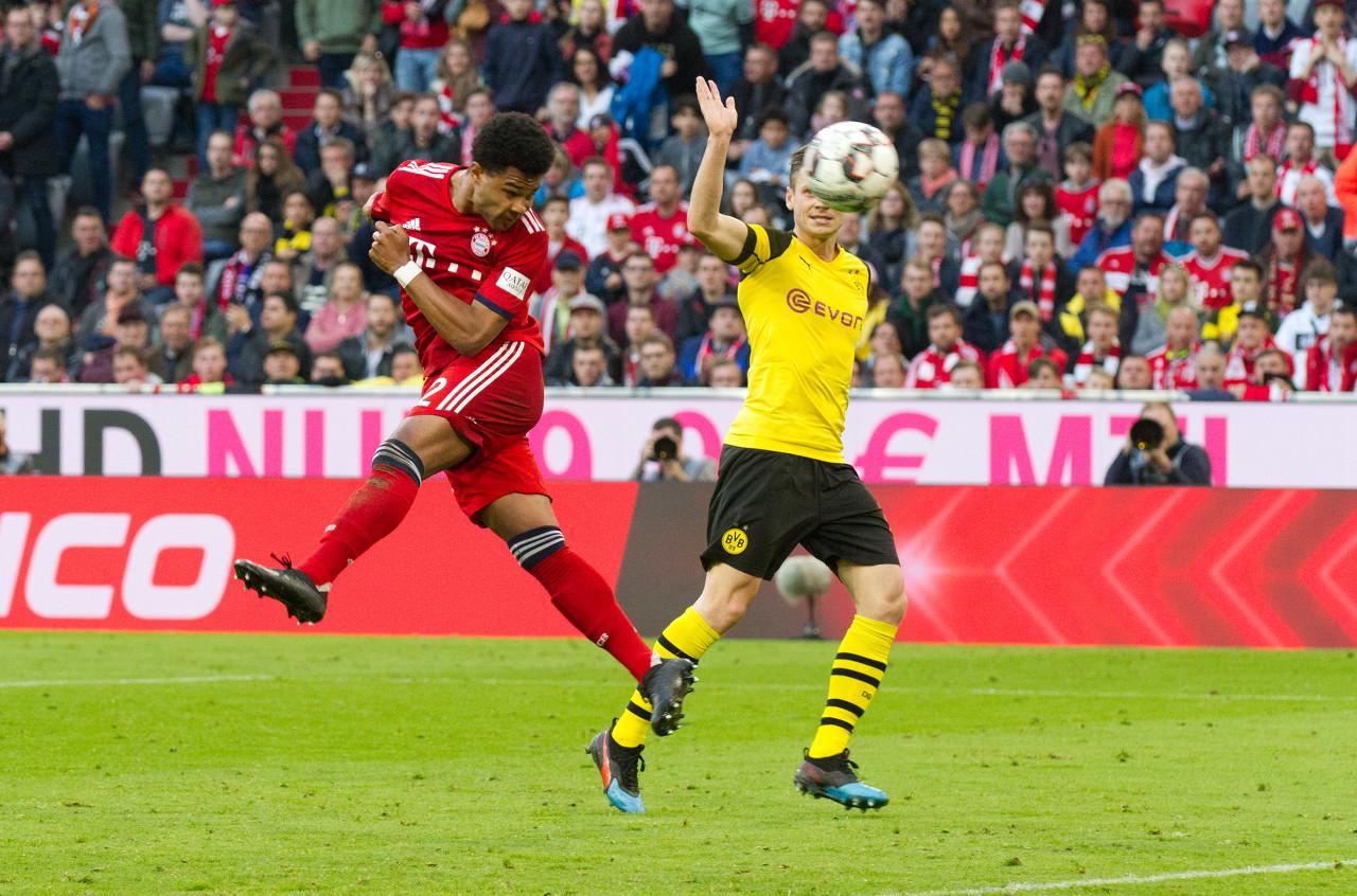 格纳布里谈对阵多特:拜仁是热门,赢下比赛对本赛季很重要