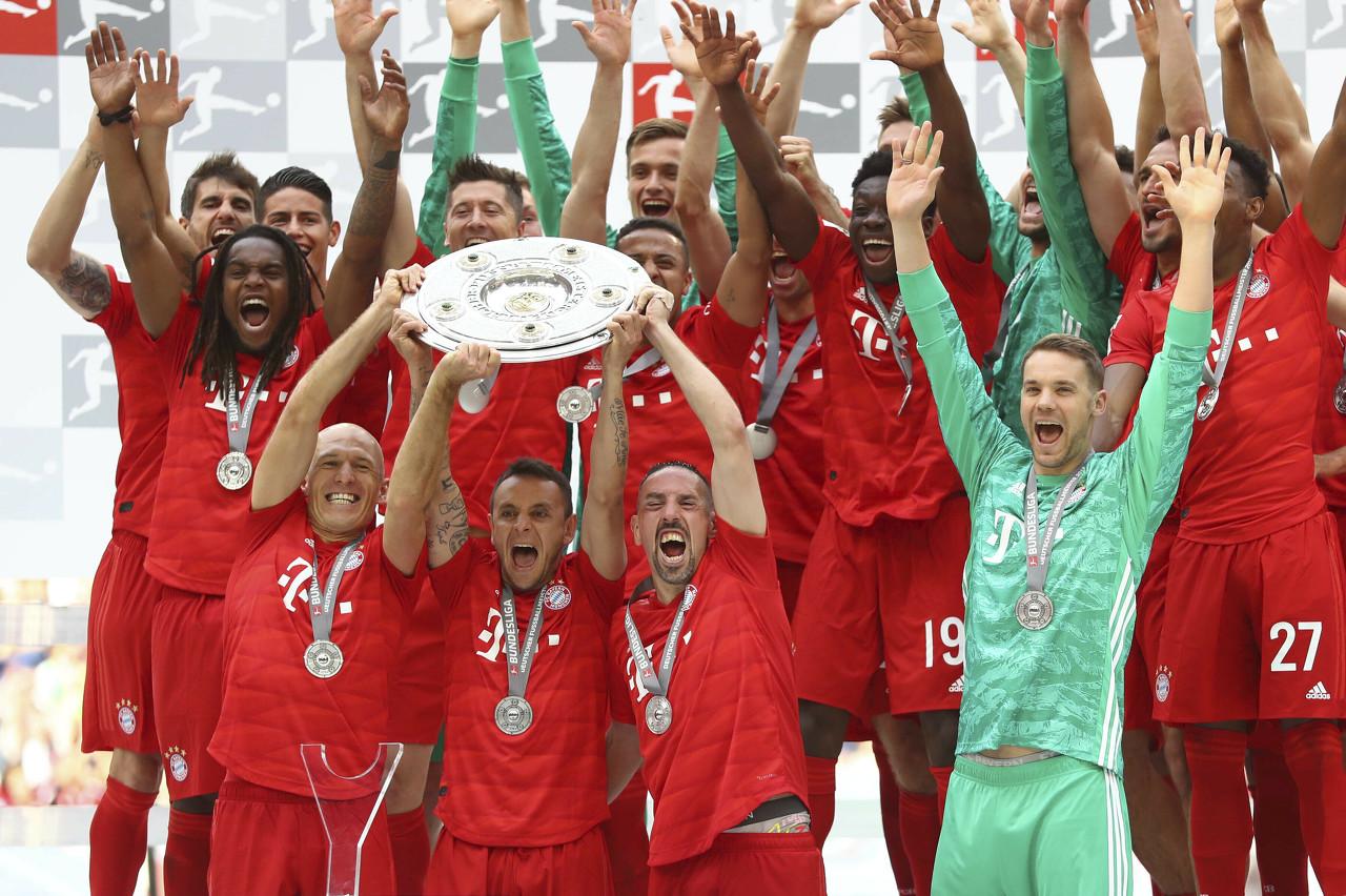 拜仁成立121年反面的光辉:联赛冠军、杯赛冠军和双冠王均是最多   