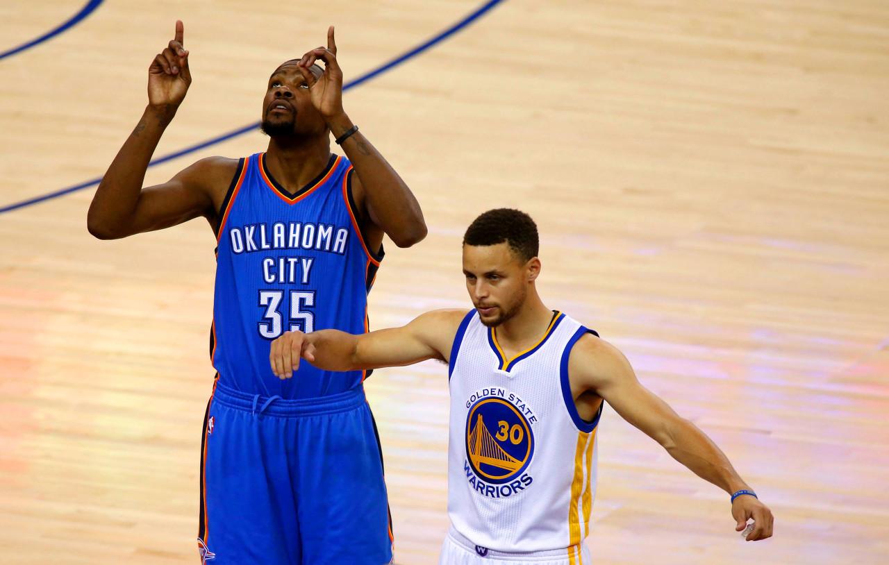 七年前的今天:Durant對陣勇士砍下職業生涯最高的54分!