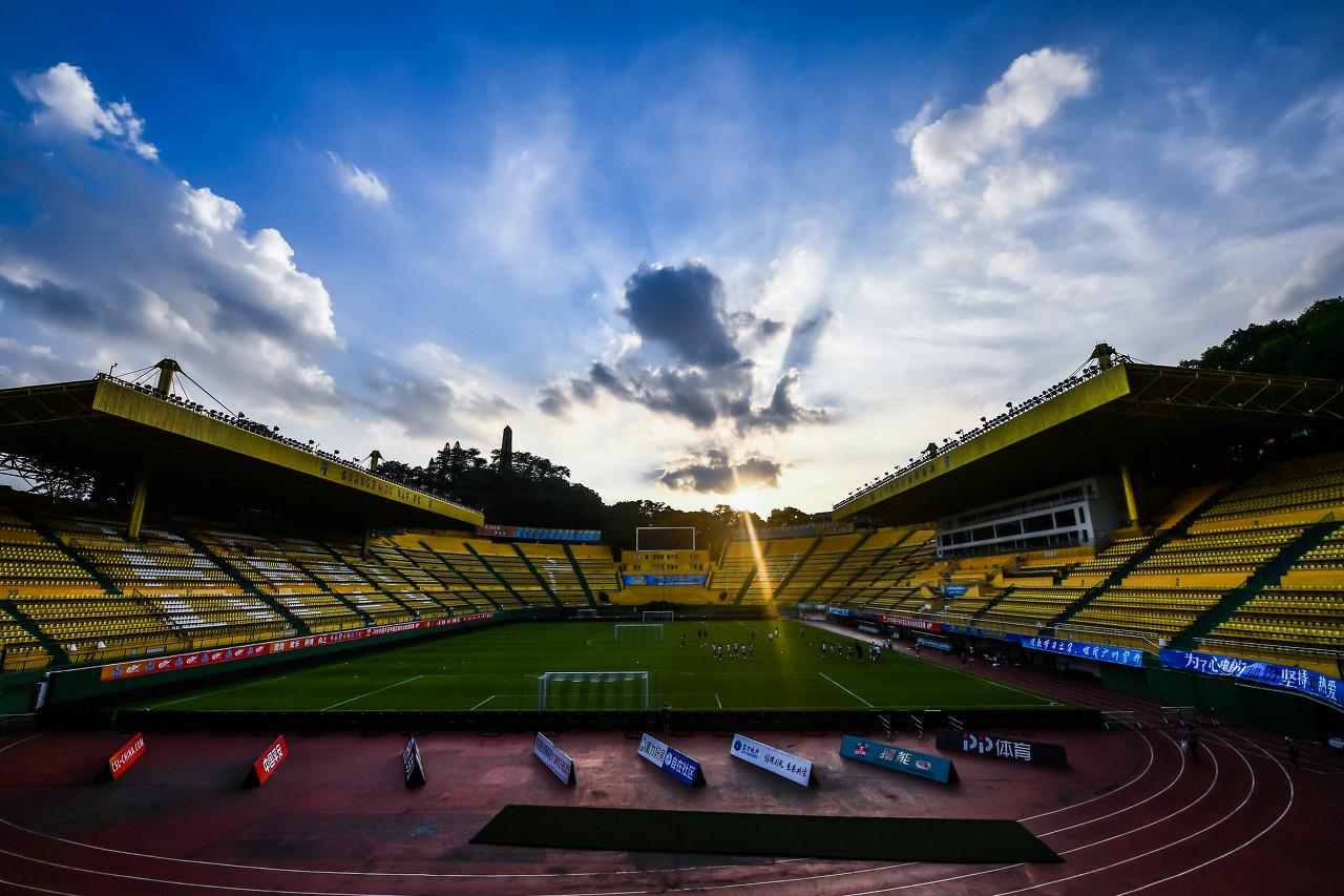 广州赛区开始承认四个比赛场地,天体、越秀山在列   