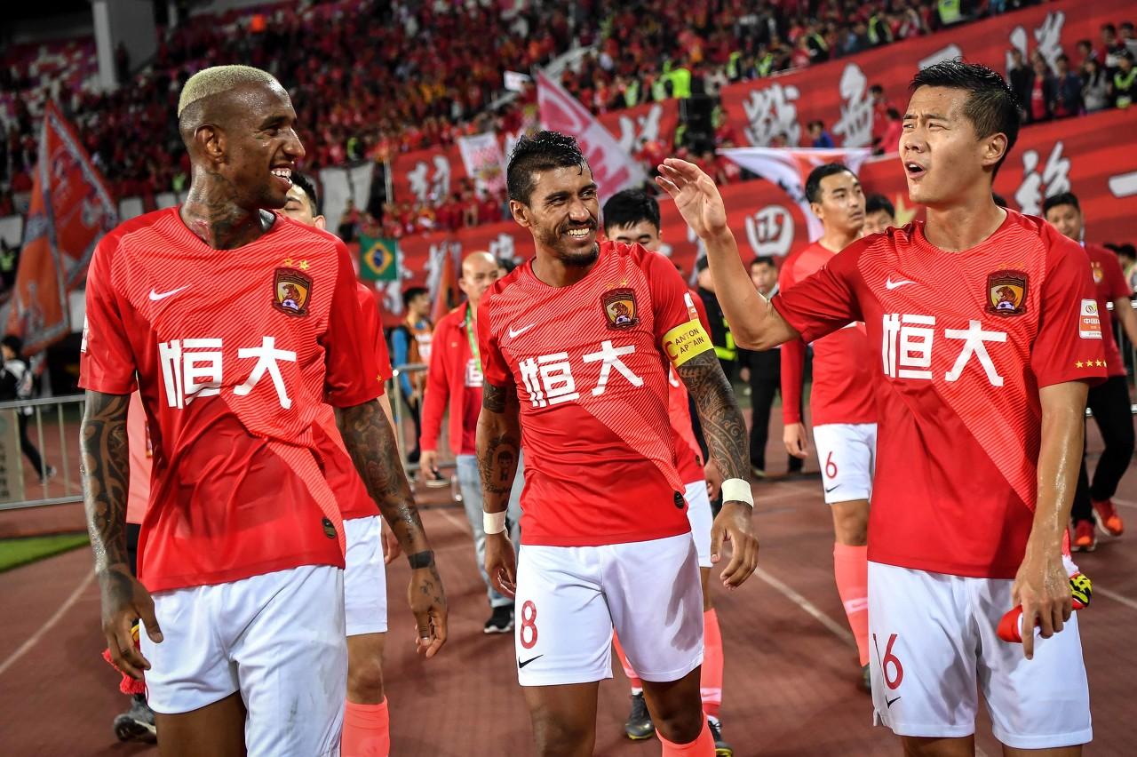广州恒大甚至有可能在新赛季入选全中国一流阵容