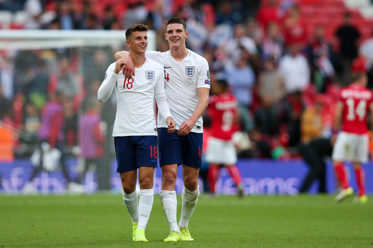 赖斯:我奉告芒特要多射门,为他在国家队再次进球感到高兴