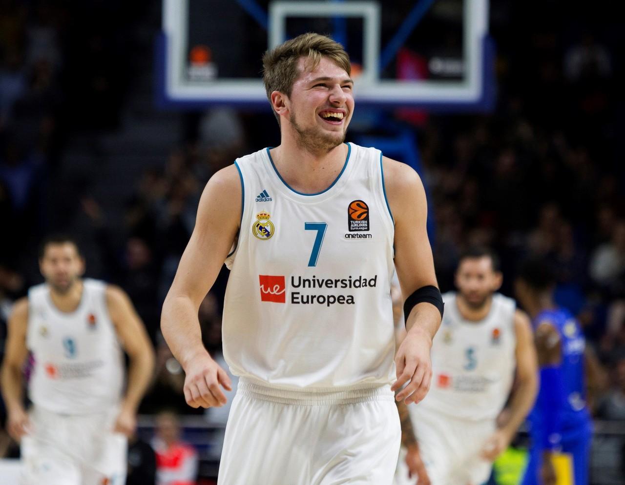 欧洲篮球联赛近10年最佳阵容:前皇马新星东契奇入选