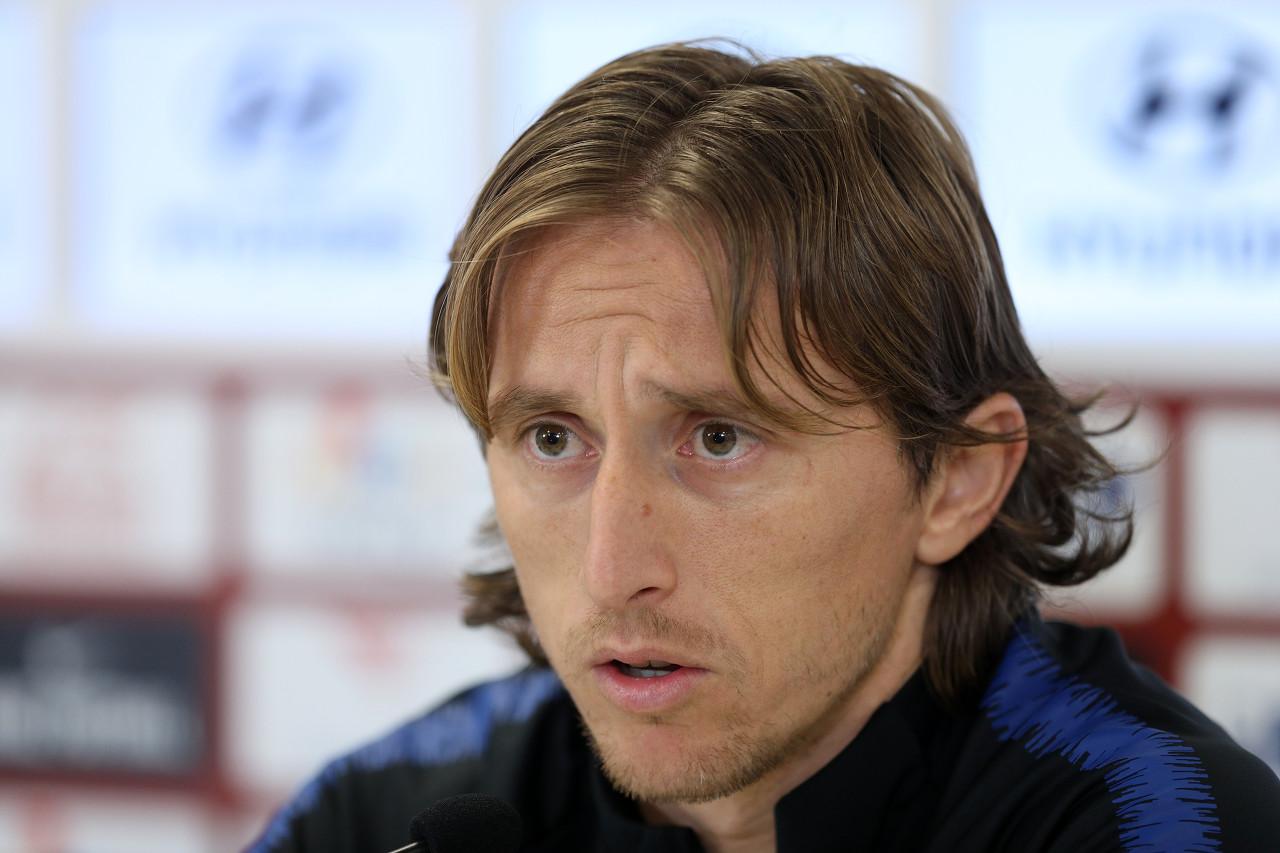 记者:莫德里奇想要专注备战新赛季,所以退出本期国家队