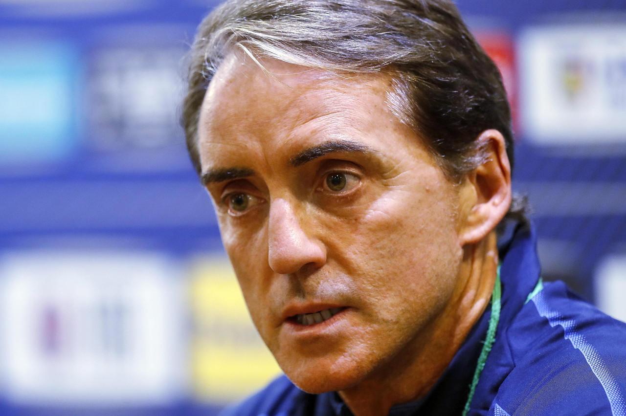 曼奇尼:意大利还有进步空间,球队目标是保持在世界前10