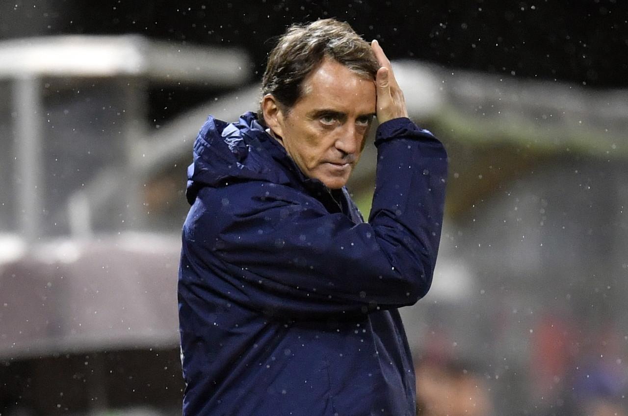 曼奇尼:荷兰第一次变阵3-5-2让我们意外 意大利会晋级的