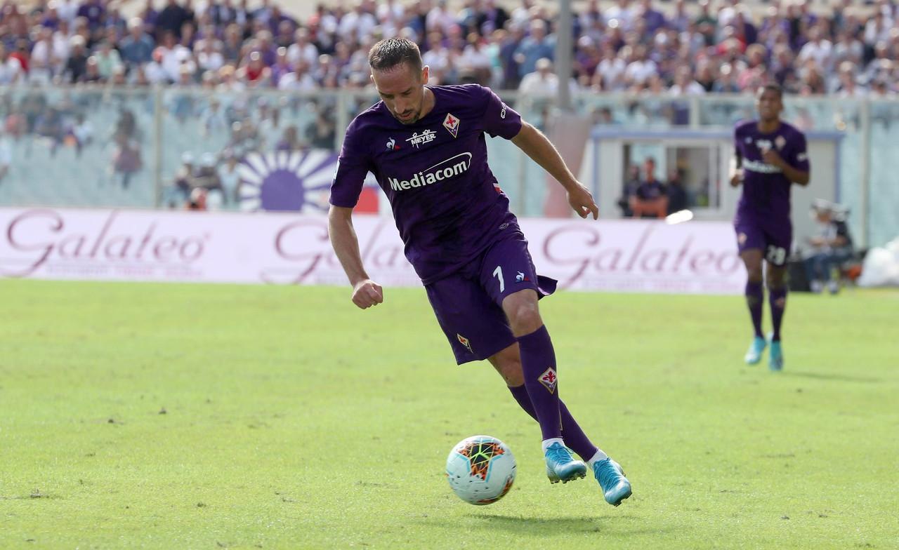 宝刀未老!官方:里贝里中选佛罗伦萨本赛季最佳球员