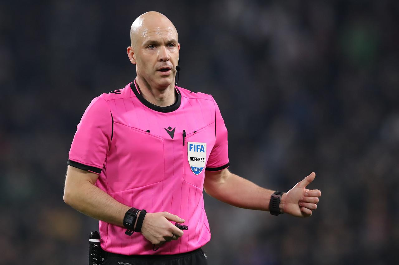 安东尼-泰勒将法令巴黎vs亚特兰大,曾吹罚巴黎3-0皇马一役