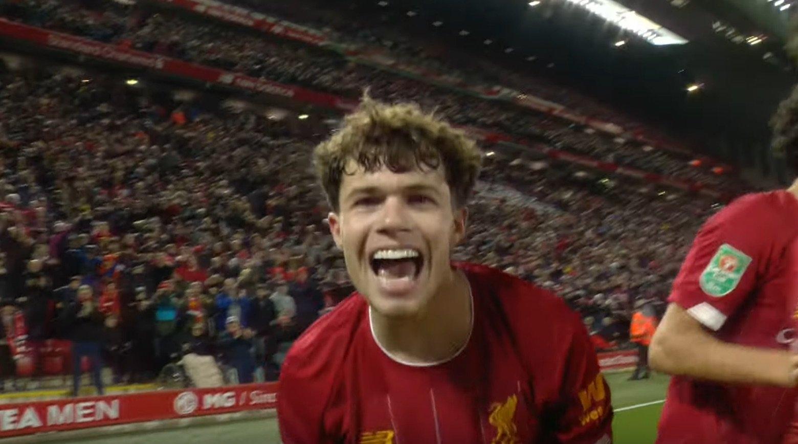 进球网:利物浦准备与19岁后卫内科-威廉姆斯续约5年