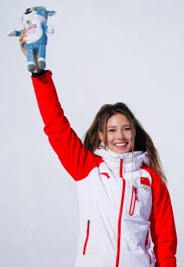 今日图集:16岁的滑雪世界杯两连冠获得者-谷爱凌