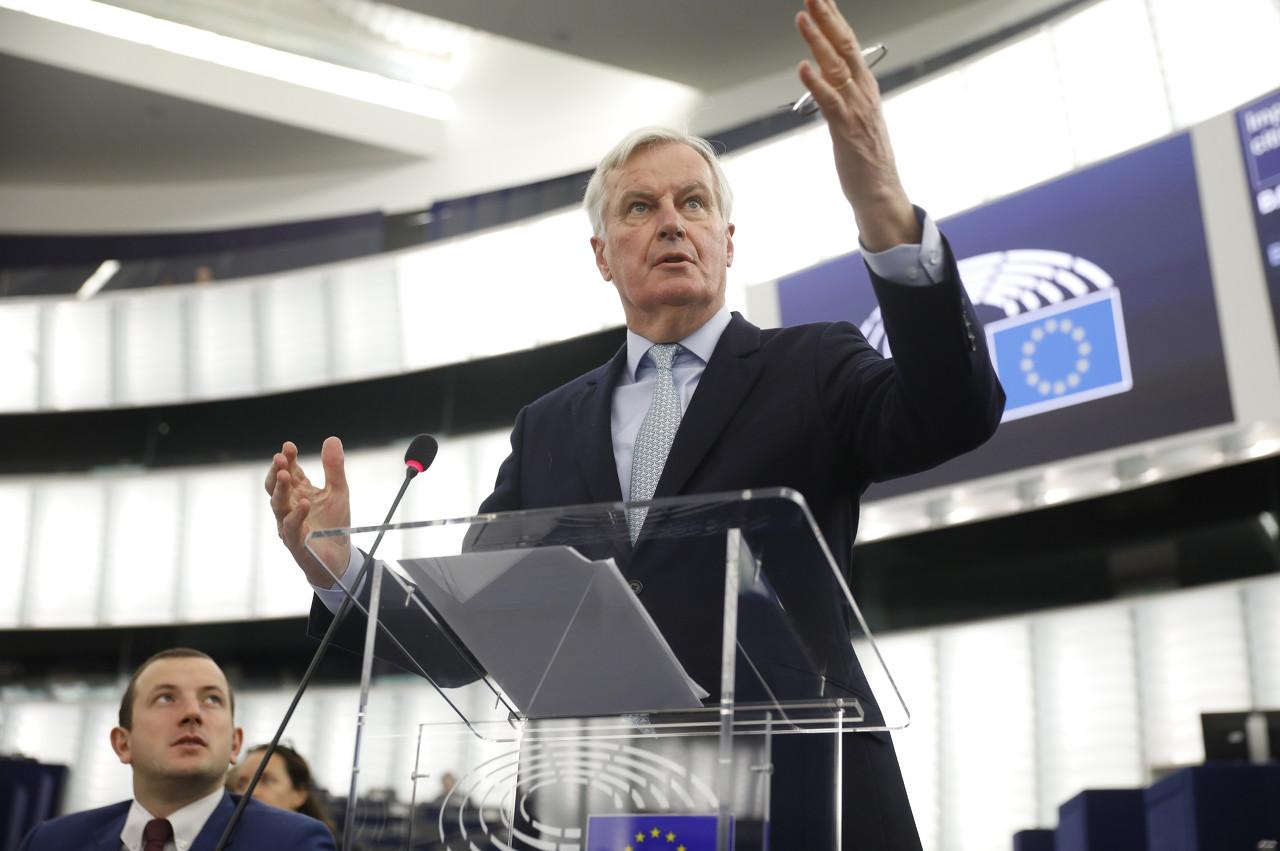 欧盟首席谈判代表米歇尔-巴尼耶表示自己感染新冠肺炎