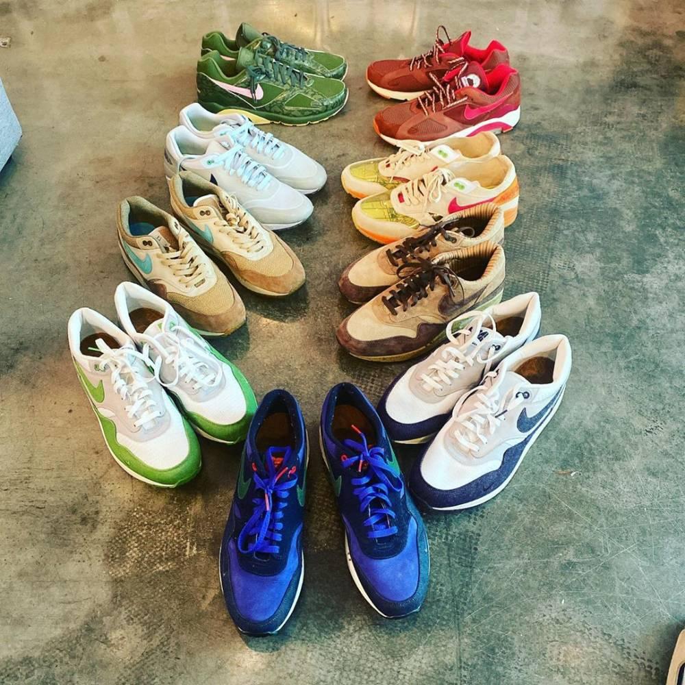 第一鞋皇!塔克Air Max Day晒出自己部分收藏