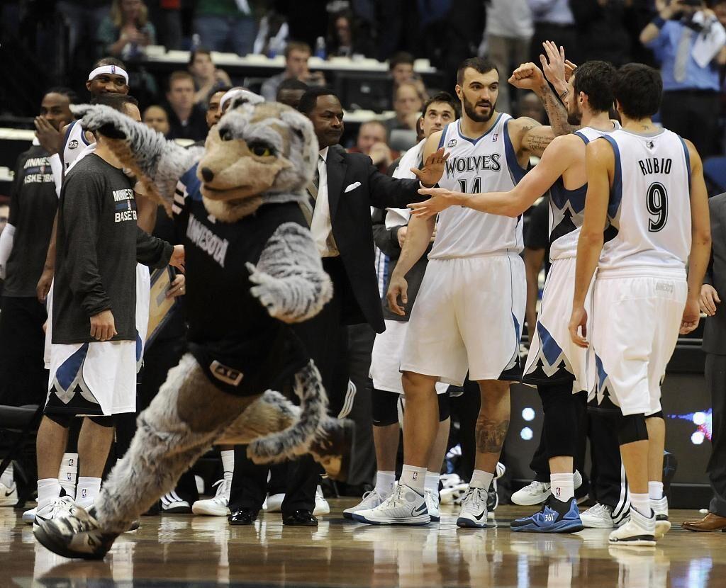 【NBA吉祥物图鉴】森林狼——酷狼奇
