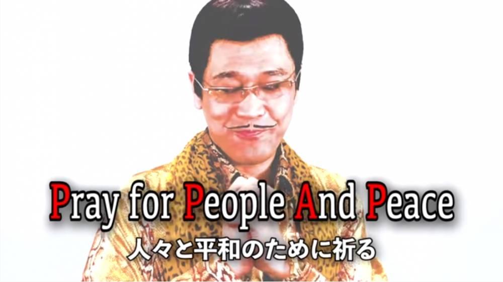 依旧魔性!Piko太郎发布《PPAP》抗疫版:为人民健康祈祷