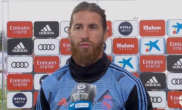 马卡:尽管没有上场,拉莫斯是皇马与曼城比赛中喊声最响的球员