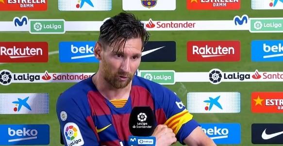 每体:根据FIFA规则,梅西进行世界转会或许不受违约金约束