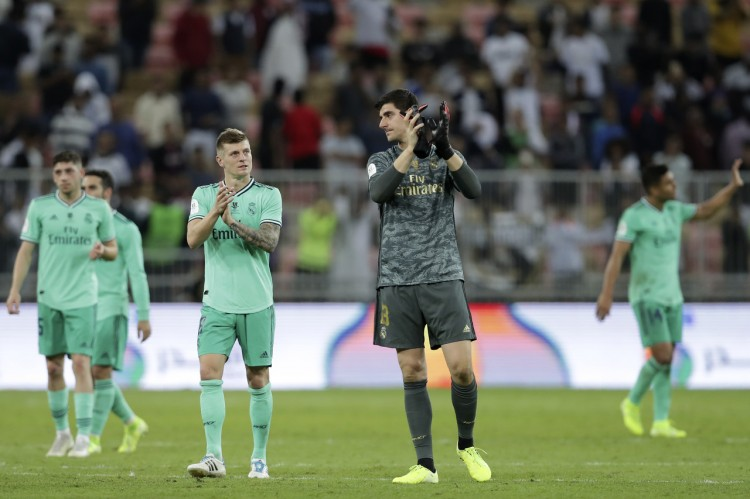 库尔图瓦:赢得不美丽但三分最重要,要继续为卫冕联赛而战役   