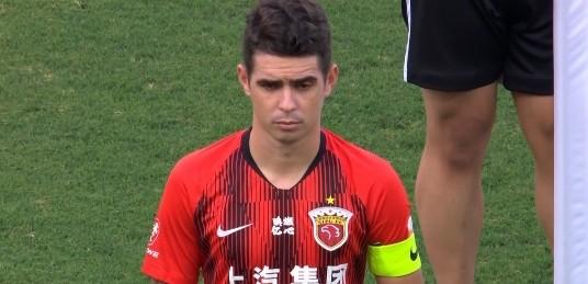奥斯卡&艾哈缺席上港赛前训练,明日对阵黄海进场成疑