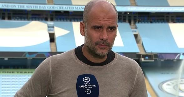 瓜帅:想获欧冠冠军,球队需打败皇马巴萨这样的强队