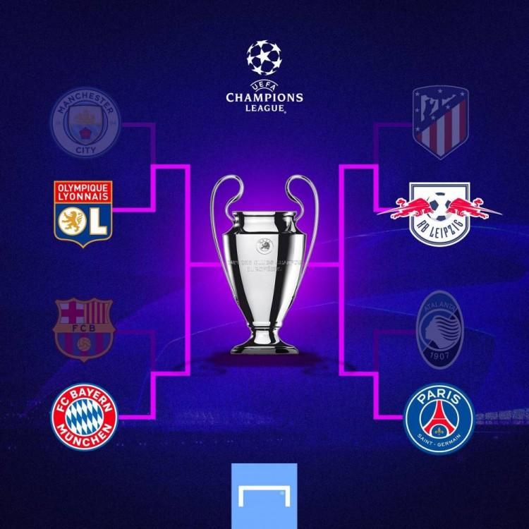 欧冠半决赛对阵出炉 欧冠半决赛赛程时间表一览