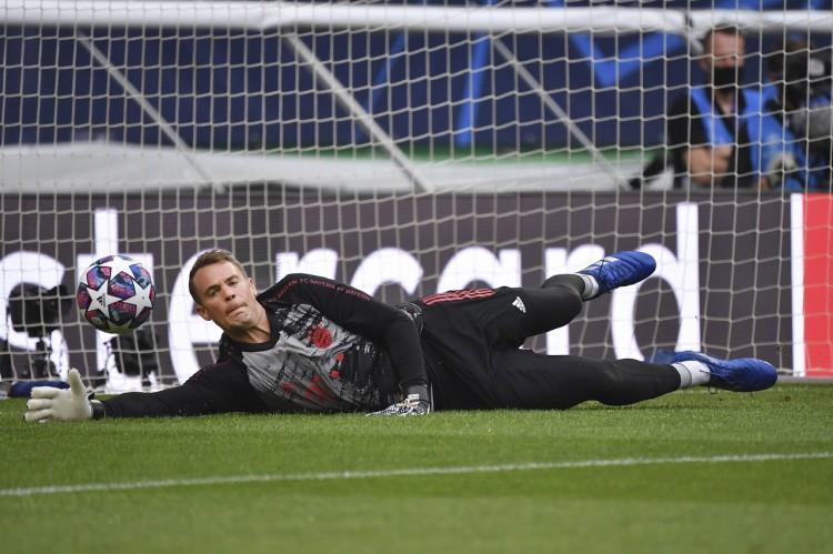 战萨尔茨堡诺伊尔单场10补偿,本赛季欧冠24次补偿领跑 
